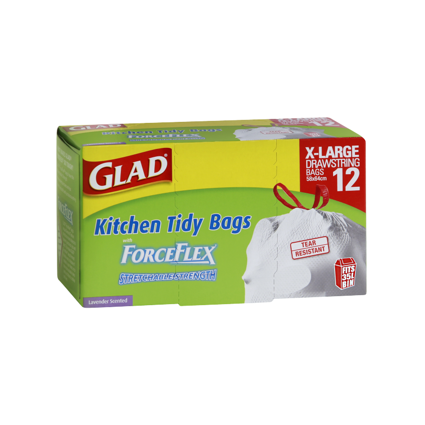 Glad® ForceFlex Kitchen Tidy Bags Extra Large 12pk