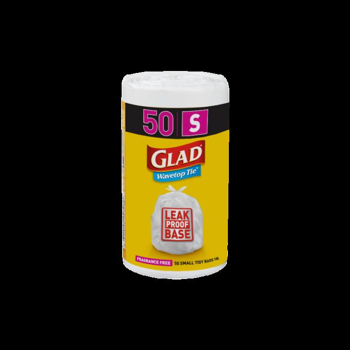 Glad® Wavetop Tie® Bags Small 50pk
