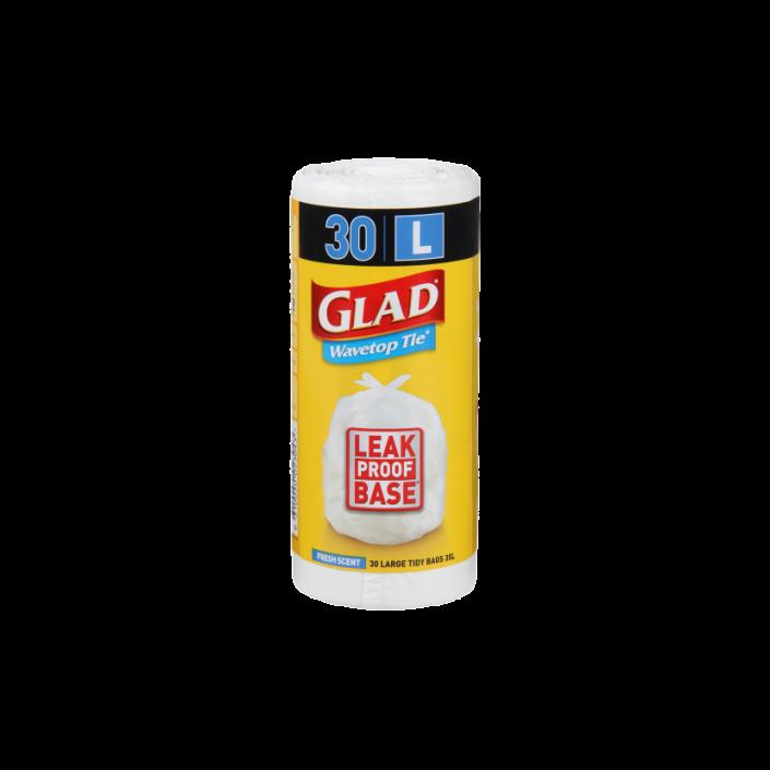 Glad® Wavetop Tie® Bags Large 30pk