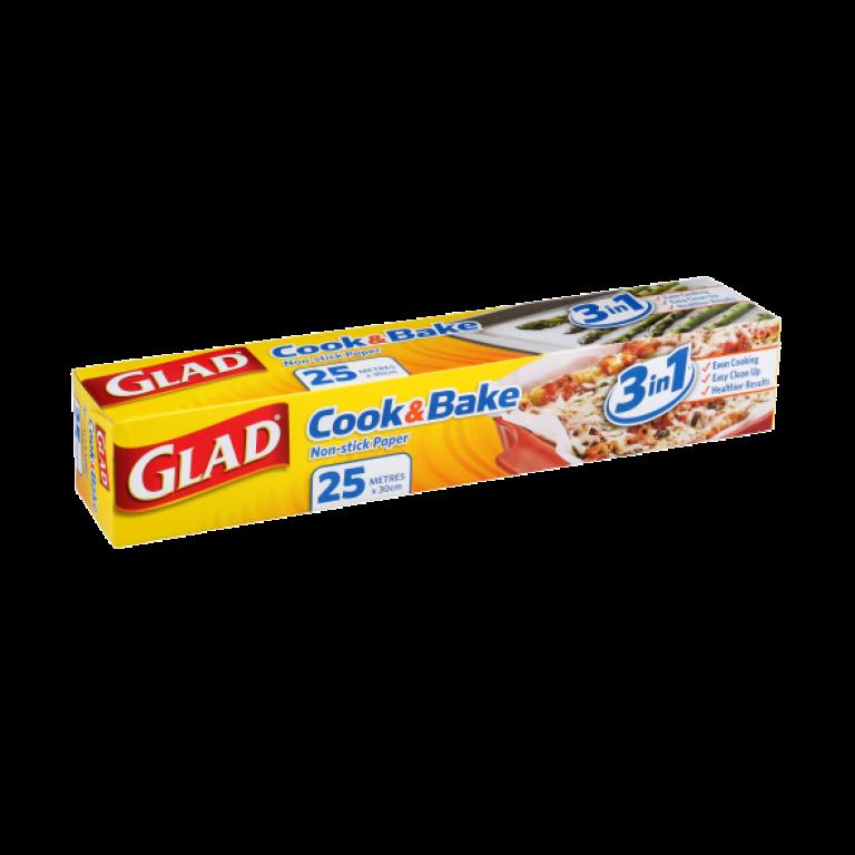 Glad® Cook & Bake Paper 25m Dispenser