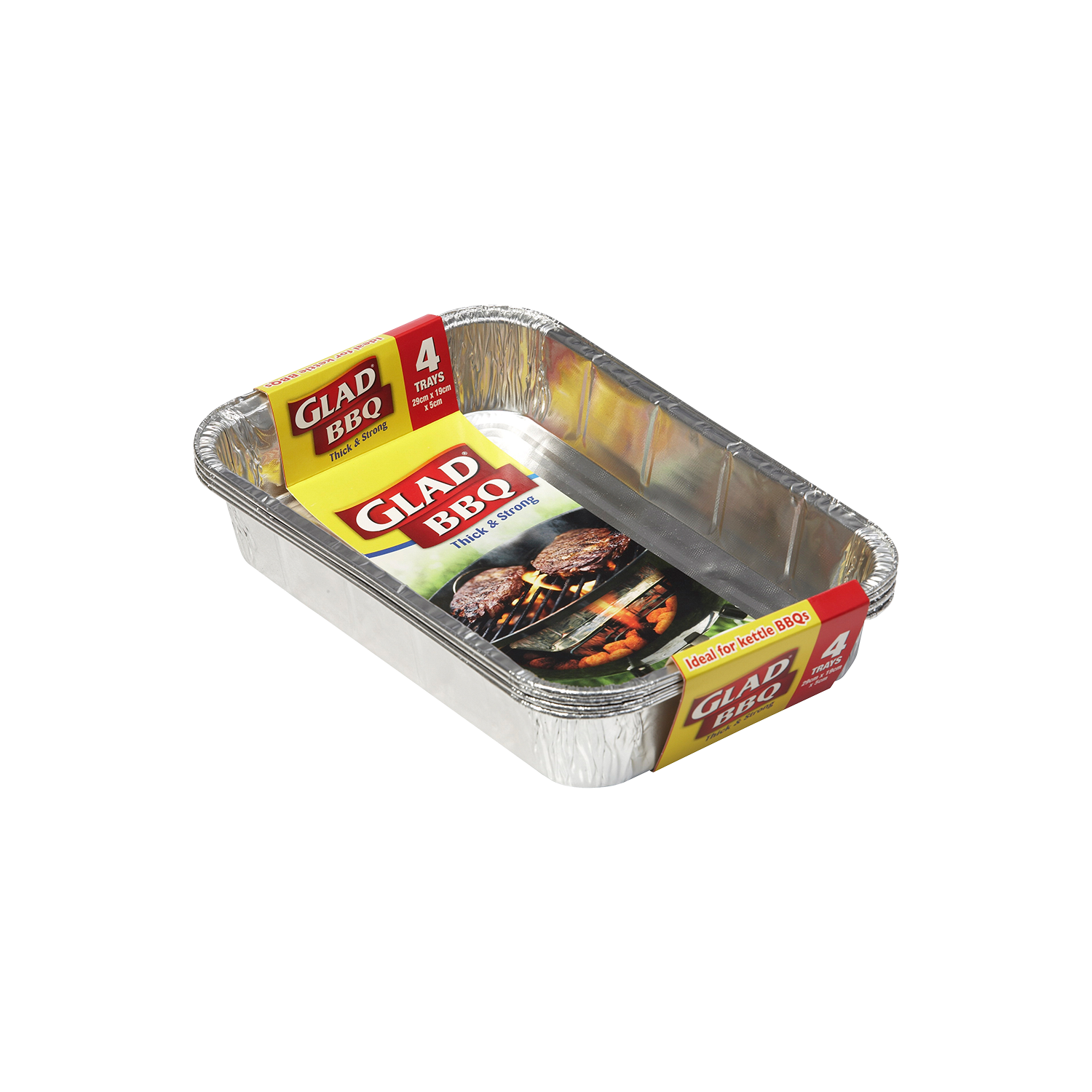 Glad® BBQ Trays 4pk