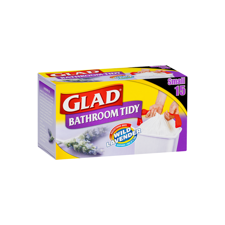 Glad® Bathroom Tidy Bags Small 15pk