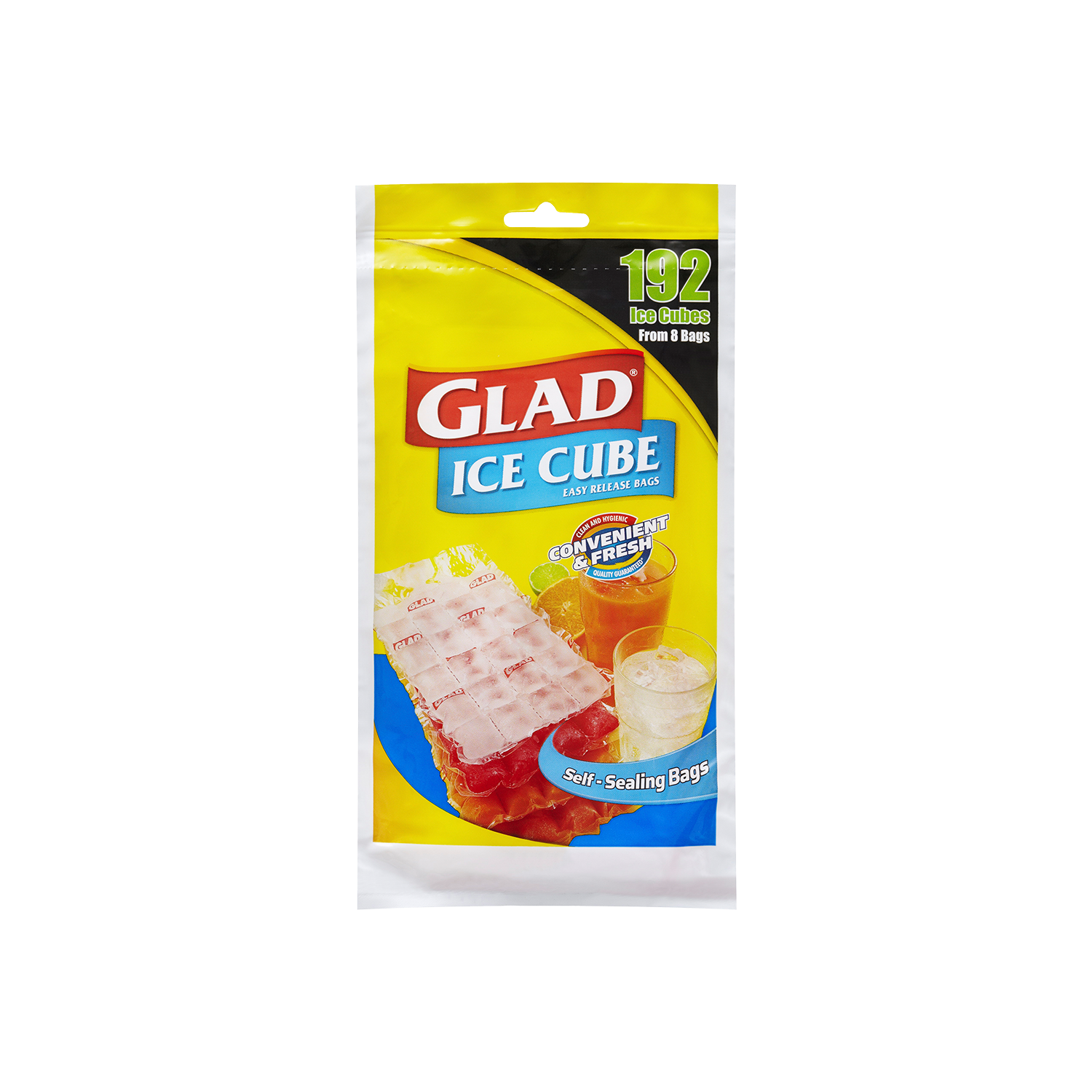 Glad® Ice Cube Bags 8 pack