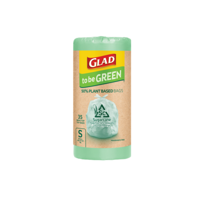 Glad to be Green® Plant Based Bags Small 35pk