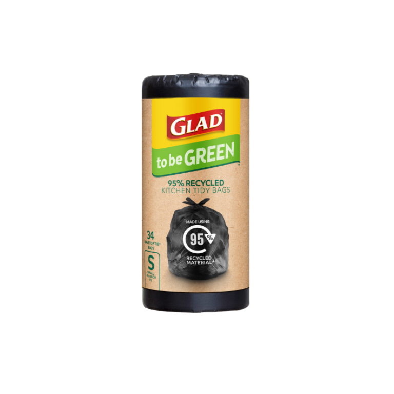 Glad to be Green® Recycled Bags Small 34pk