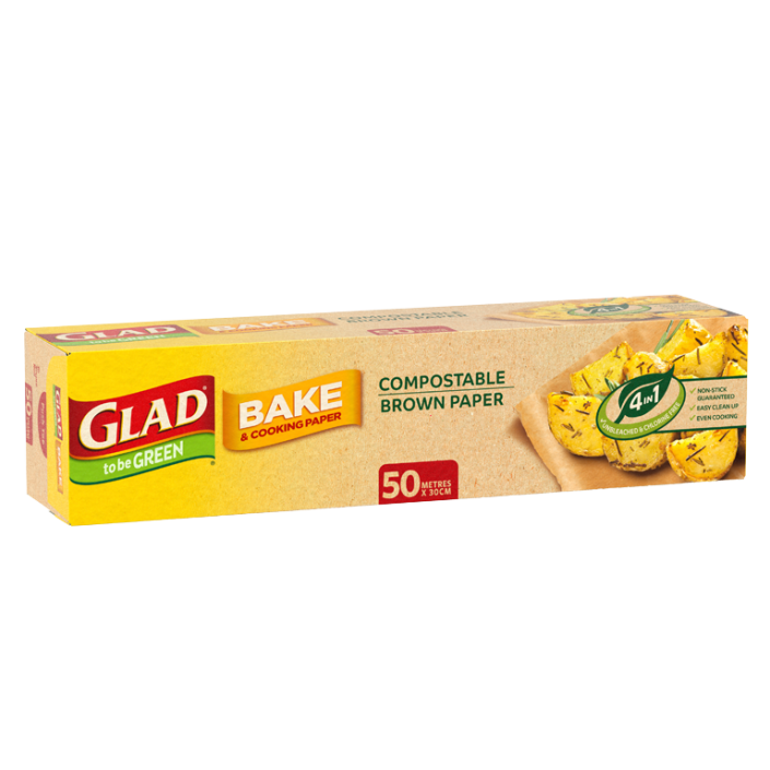 Glad to be Green® Compostable Bake Paper 50m
